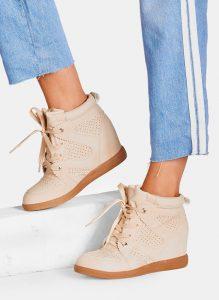 Beżowe sneakersy Makoto (1)